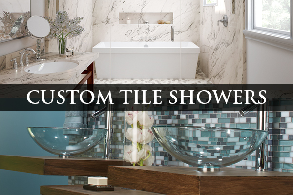 Stop by today to get started on your next custom tile shower project!